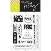 Hero Arts Kelly's 100% Me Clear Stamp Set
