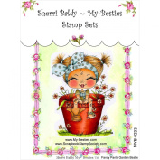 My-Besties Clear Stamps, Fancy Pants Garden Flower, 10cm by 15cm