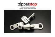 ZipperStop Wholesale Distributor YKK® Zipper Repair Kit Solution, YKK® #5 Moulded Reversible Fancy Pulls Vislon slider Made in USA - 3 Pulls Per Pack