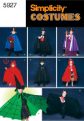 Simplicity Sewing Pattern 5927 Child Costumes, A