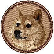 Shibe' Doge Dog Face Patrol Patch - 5.1cm Round