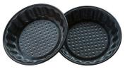 Round Fluted Mini Pie Pans Non-Stick Carbon Steel