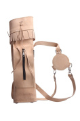 ArcheryMax Traditional Back Side Suede Tanned Arrow Quiver