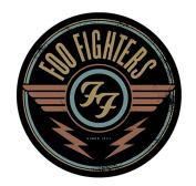 C & D Visionary Foo Fighters Logo Sticker Novelty, Red