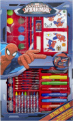 Disney Dinsey Character Childrens Kids Painting Drawing Colouring Stationery Set 52Pc Spiderman