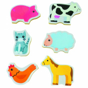 Cute Creatures Chunky Bath Stickers