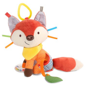 YoYoLuckman Fox Baby Rattle Baby Crib Baby Car Seat Toy
