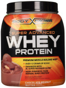 Body Fortress Super Advanced Whey Protein Powder, Chocolate Peanut Butter, 0.9kg