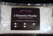 0.9kg. L-Glutamine 1000mg Amino Acid Protein Powder Pure By Dual Health
