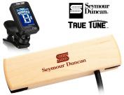 Seymour Duncan Woody Series SC SA-3SC - Single Coil Acoustic Guitar Pickup True Tune Tuner Bundle
