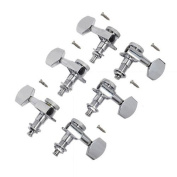 3l3r Chrome Locking Tuning Pegs Tuners Machine Heads for Fender Guitar Parts Replacement