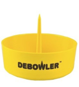 Debowler (Yellow) Acrylic Ashtray with Built in Poker