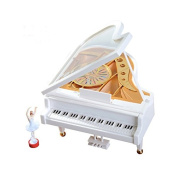 Music Box Serinette Mini Electric Vintage Piano Modelling Style Creative Gifts Birthday Gift
