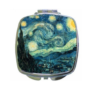Starry Night By Vincent Van Gogh Compact Mirror