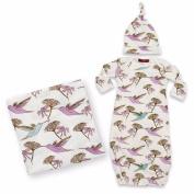 Milkbarn Newborn Keepsake Set - Hummingbird