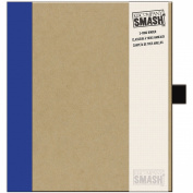 K & Company Smash Binder Kraft With Blue, 29cm x 25cm
