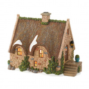 Dickens Village from Department 56 Anglesey Cottage Lit House