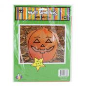 Halloween Fall Giant Pumpkin Lawn Leaf Leaves Bag, 110cm x 120cm