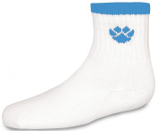 Cheerleading Sock With Paw And Stripe