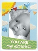 You Are My Sunshine Colourful Birds Porcelain 4x6 Picture Frame