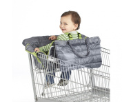 Nuby Quilted Shopping Cart and High Chair Cover