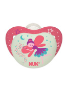 NUK Night Glow, Glow in the Dark Pacifiers in Assorted Colours and Styles, 6-18 Months
