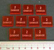 2 Damage Tokens (10)