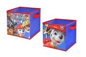 Nickelodeon Paw Patrol Storage Cubes (2 Pack), 25cm Toy