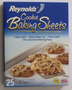 Reynolds Cookie Baking Sheets Non-stick Parchment Paper 2-pack (25 Count Each)