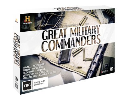 Great Military Commanders Collector's Set [DVD_Movies]