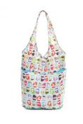 Foldaway Shopping Bag, Push Button Closure, Choice of Fun Designs. The Very Lovely Bag Co.