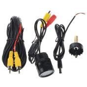 ABLEGRID® Universal CMOS Car Rear View Reverse Backup Parking Camera IR Night Vision 9 LED