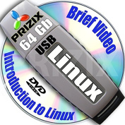 Linux on 64Gb USB Flash and 12-DVDs, Installation and Referense Set, 32-bit