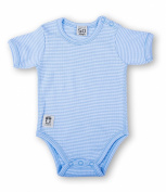 Pippi Baby-Boys Short Sleeve with Buttons O.Shoulder Bodysuit