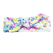 Sanwood Baby Girl Headband Bowknot Flower Headdress Elastic