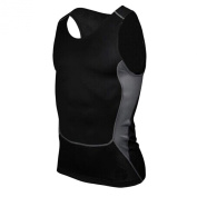 ROPALIA Mens Tight Breathable Sport Vest Compression Fitness Athletic Tank Top