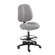 Safco Apprentice II Extended Height Chair, Grey