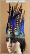 Indian Feather Fancy Carnival Headband