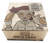 Dewytree Prime Gold Snail Eyes Patches 90g 60 Sheets Facial Skin Care Beauty