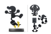 Nintendo amiibo Character Mr Game and Watch