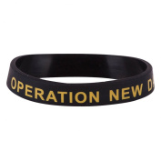 Veteran Silicone Wristband - Operation New Dawn W01S43E