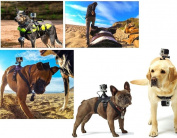 Fone-Stuff GoPro Dog Harness Chest Strap Hound Fetch Belt Mount For Hero GoPro Session Hero 4/3+/3/2/1 + Xiaomi + SJ Cameras