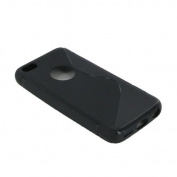 Bi-Material Cover for Iphone 5C Black