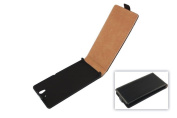 Flip-Style Case / Flip Case / Cover / Shell-Slim for SONY Xperia L / S36h / Black Flip Case / Cover / Pouch / Pocket / Case / Cover / Pouch / Sleeve