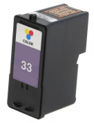 HouseOfToners Remanufactured Ink Cartridge Replacement for Lexmark #33 18C0033