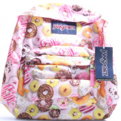 Classic Jansport Superbreak Backpack (Multi Donuts