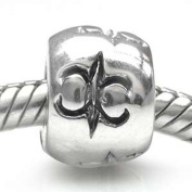 925 STERLING LILIES BEAD CHARM