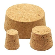 TAPERED CORK BUNG 35/30mm - Bung Bungs Cork Kork Corks Stopper Stoppers Airlock Bubbler Carboy