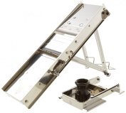 Bron Coucke 20638CHB - Stainless Steel Mandoline Slicer and Safety Guard