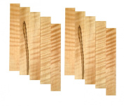 Curly Soft Maple Pen Blank 10-Pack